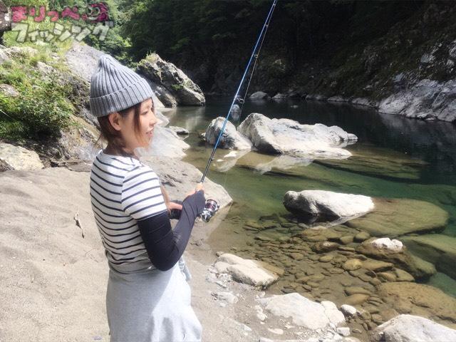 アマゴ釣り
