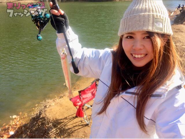 布目湖ワカサギ釣り