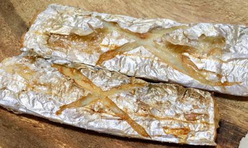 タチウオの塩焼き