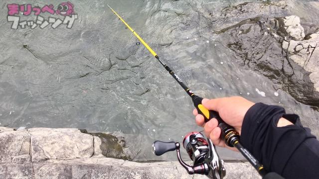 テナガエビ釣り