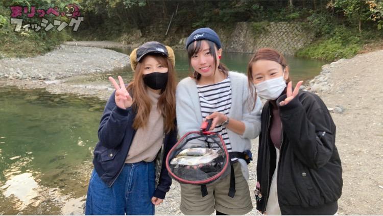 芥川・ニジマス釣り